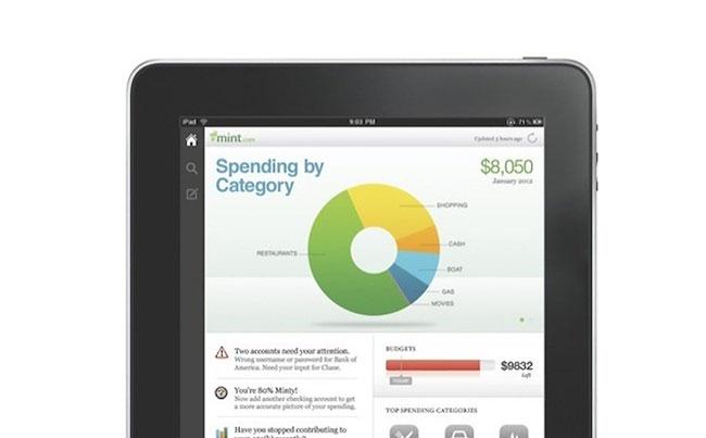 Mint-iPad-App